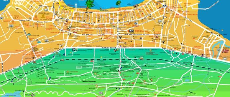 Как не заблудиться в туристических районах Паттайи