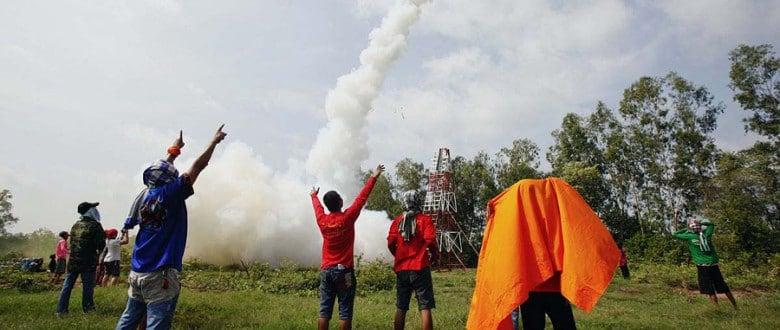 Фестиваль ракет Бун Банг Фай 2013