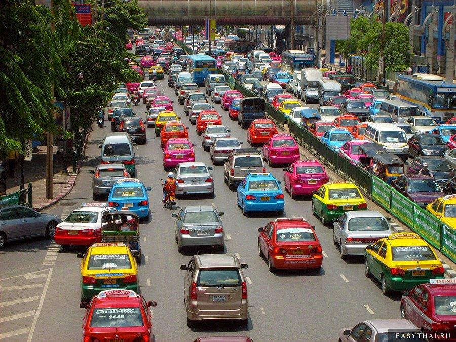 Дороги в Бангкоке