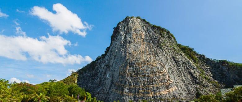 Гора Будды и Ват Йянсангварарам