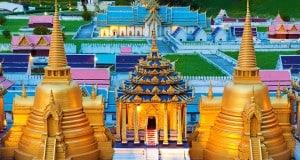 Мировая культура в миниатюре в тематическом парке Мини Сиам