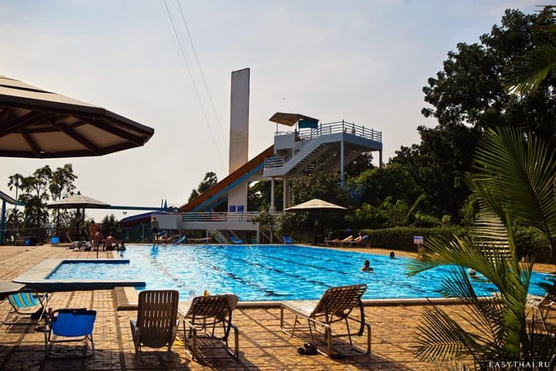Бассейн при отеле Паттайя Парк