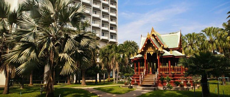 Башня-отель Паттайя-Парк — визитная карточка Паттайи