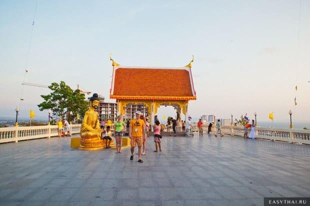 Площадка за статуей Большого Будды