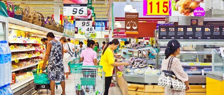 Магазины и гипермаркеты Tesco Lotus