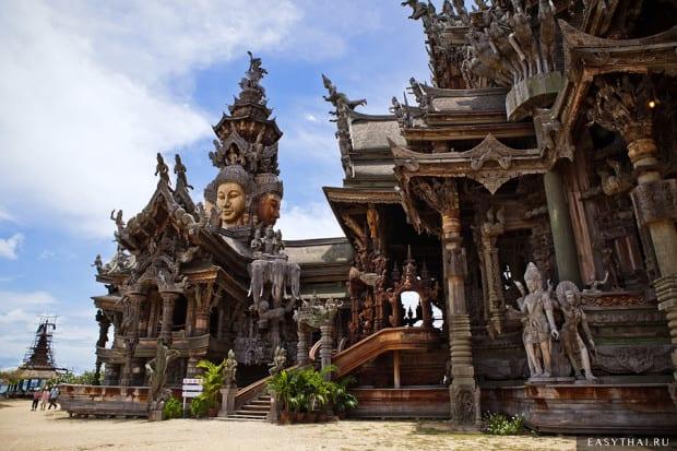 Вид Храма Истины