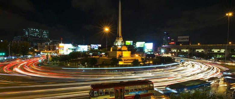 Микроавтобусы (минибасы) в Бангкоке