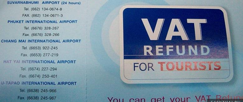 Возврат НДС в Таиланде (VAT Refund)
