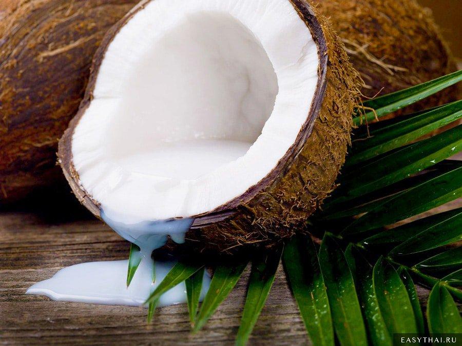 Кокос и кокосовое молоко