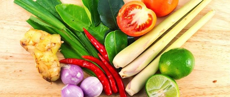 Ингредиенты тайской кухни