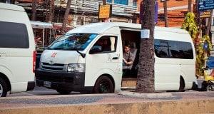 Туристические автобусы в Таиланде