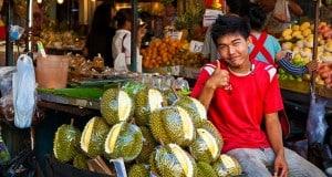 Дуриан — тайский король фруктов