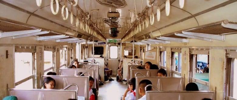 Типы вагонов в тайских поездах
