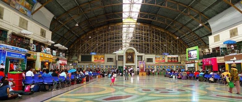 Как купить билет на поезд в Таиланде