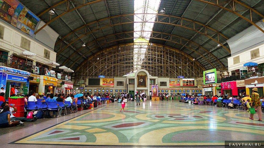 Поезда в Таиланде и железные дороги Таиланда