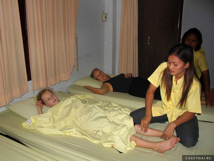 Тайский массаж при храме