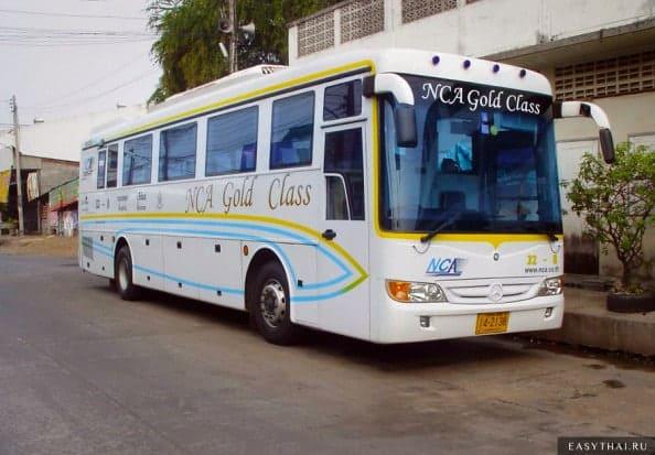 Автобус компании Nakhonchai Air