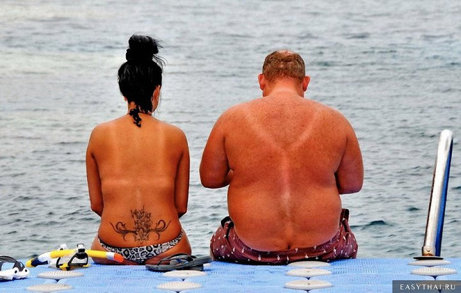 Любители пляжного отдыха