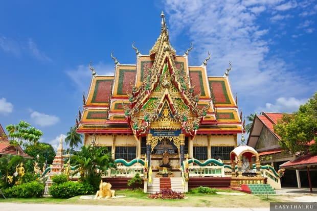 Буддийская пагода на Самуи