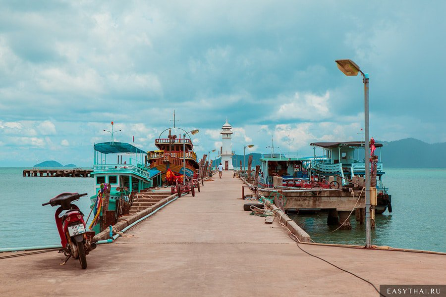 Деревня рыбаков и маяк Банг Бао