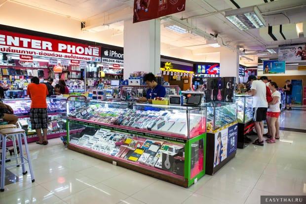 Магазин Тукком в Паттайе
