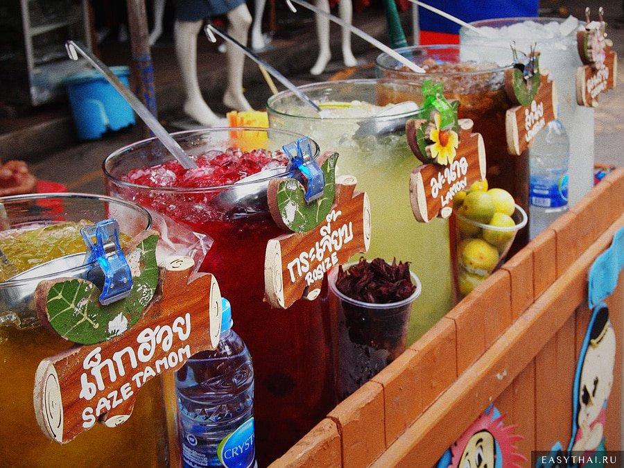 Напитки на рынке