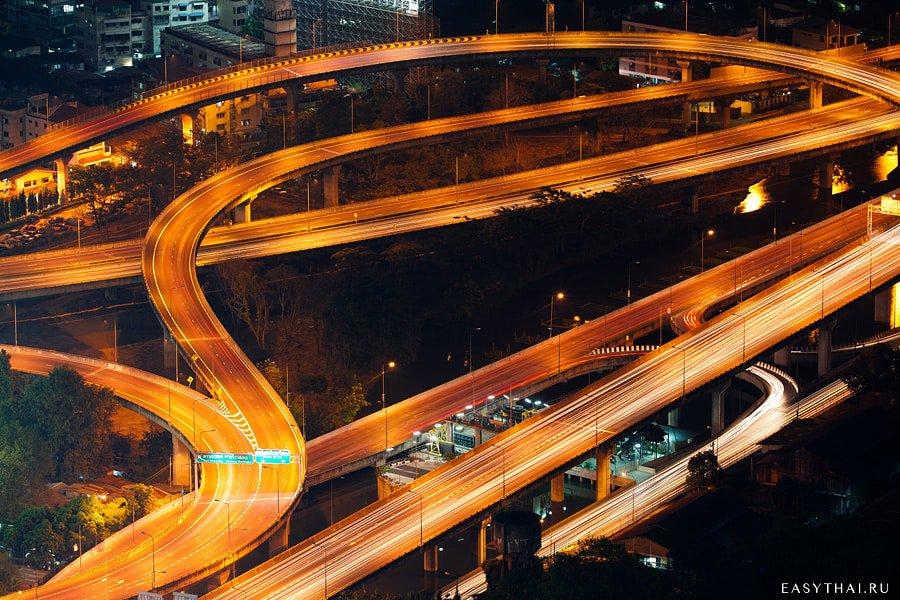 Автотрасса в Бангкоке