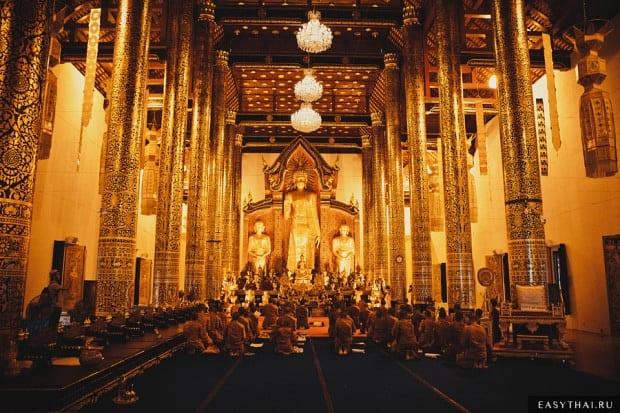 Буддийский храм в Чианг Мае