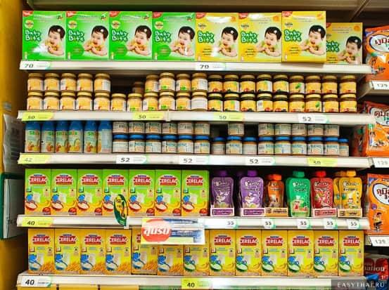 Детское питание в Теско Лотус