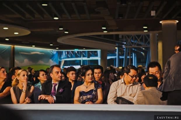Приглашенные гости на кастинге Elite Model Look 2013