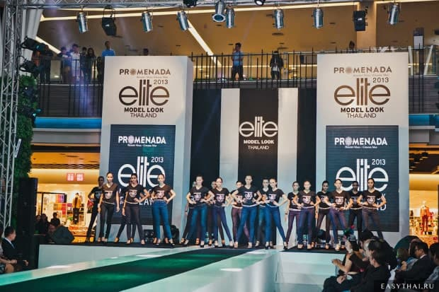 Кастинг Elite Model Look Thailand 2013