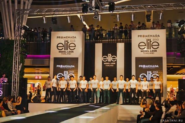 Участники кастинга Elite Model Look