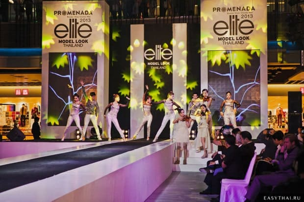 Концерт на кастинге Elite Model Look Thailand 2013