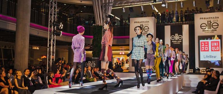 Фотоотчет с кастинга Elite Model Look и открытия ТЦ Променада в Чиангмае