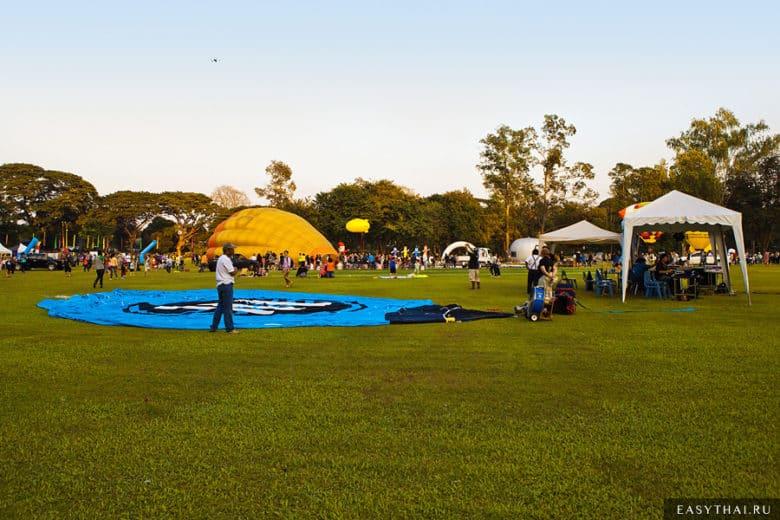 Фестиваль воздушных шаров в Таиланде 2013