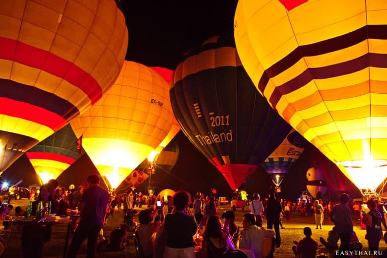 Фестиваль воздушных шаров в Чиангмае 2013