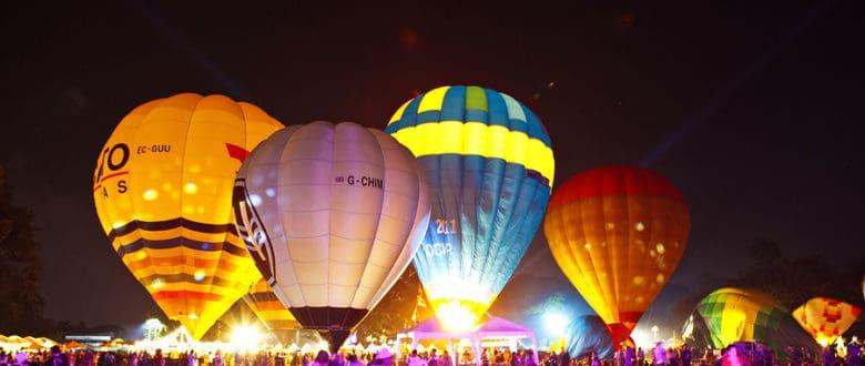 Международный фестиваль воздушных шаров в Таиланде 2013