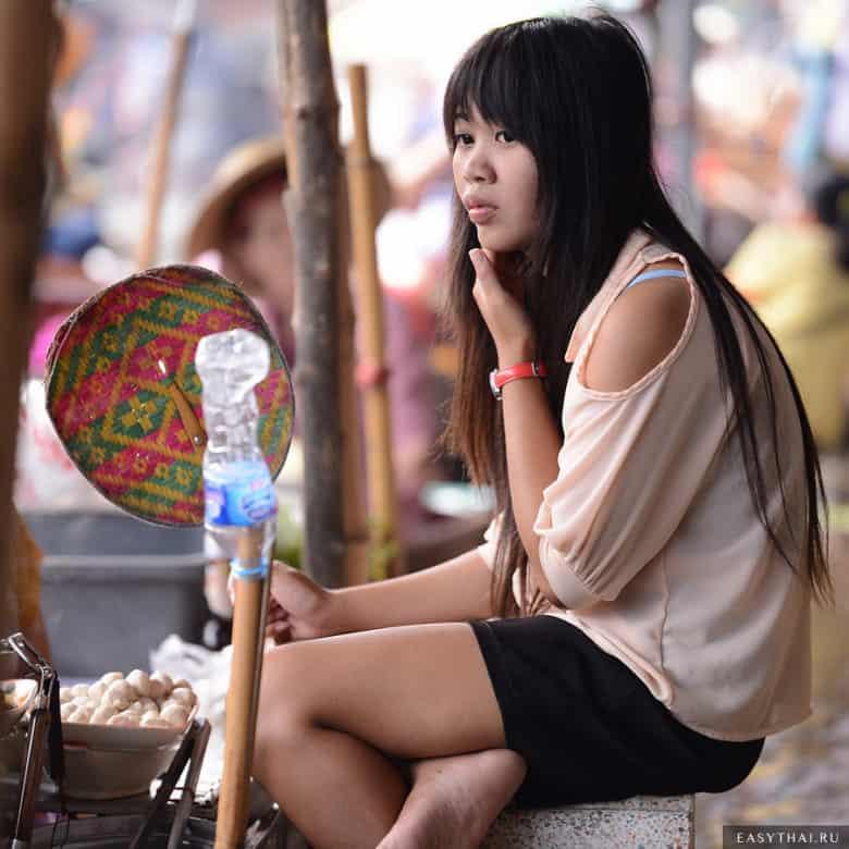 Девушка в Бангкоке