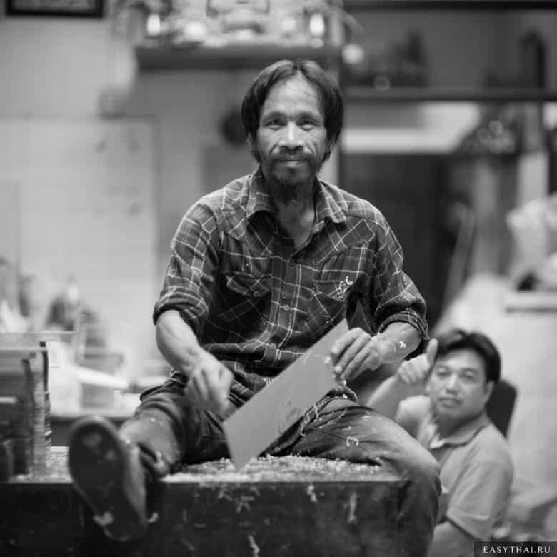Рабочие в Бангкоке