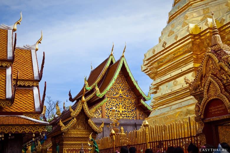 Храм Дои Сутхеп в Чиангмае