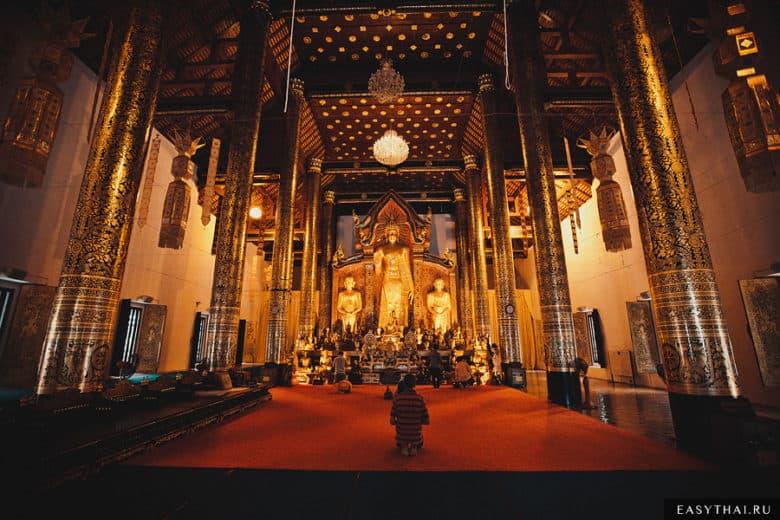 Храм Вора Вихарн в Чиангмае