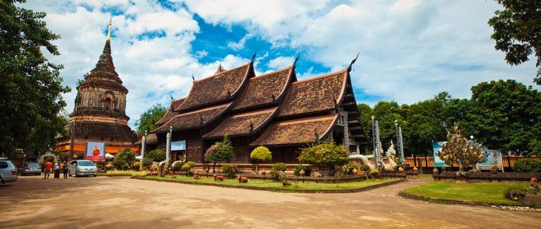 Самые интересные и колоритные храмы Чиангмая