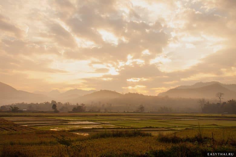 Красивая природа северного Таиланда