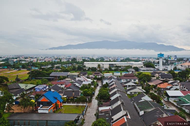 Вид на гору в Чиангмае