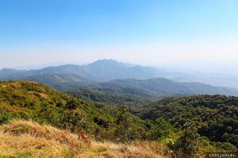Вид с горы Интханон