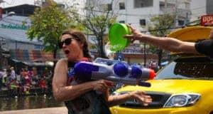 Репортаж о водных битвах в тайский новый год или Сонгкран 2014 в Чиангмае!!!