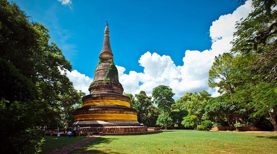 Ват Умонг - Wat Umong