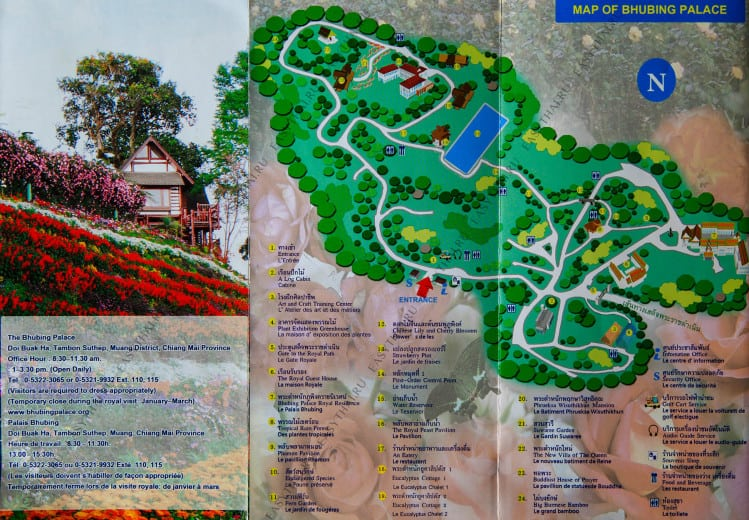 Карта Bhubing Palace