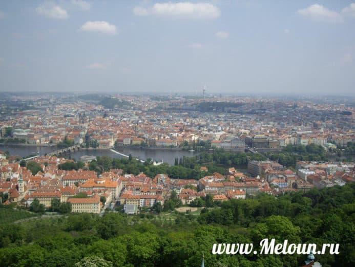 Летняя Прага