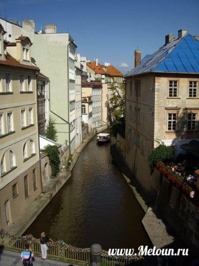 Влтава в Праге
